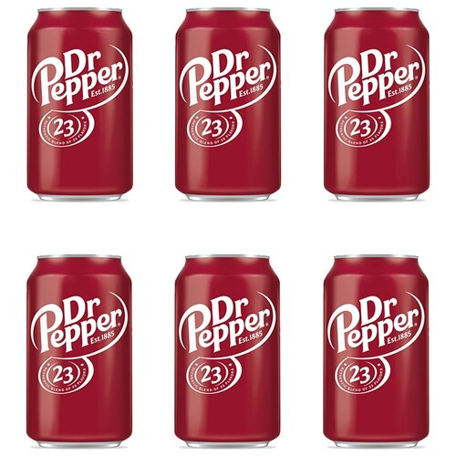 Газированный напиток Dr Pepper 23 Classic, США(6 шт. по 355 г)