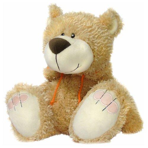 Мягкая игрушка Мишка с капюшоном 47 см коричневый