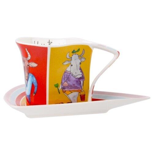 Чайный набор 2 пр. FANCY BULLS