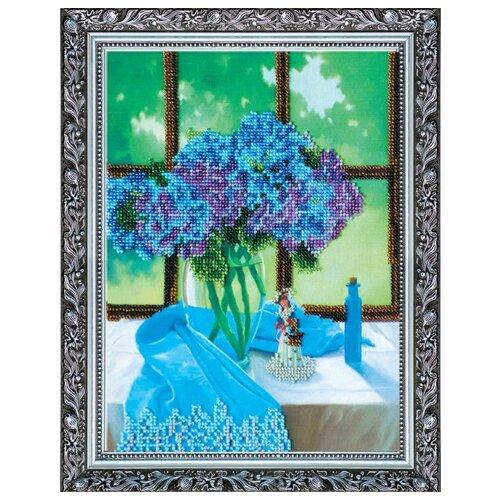 Купить Набор для вышивания бисером АБРИС АРТ AB-067 Сиреневое настроение 20х25, 5 см, ABRIS ART, Наборы для вышивания