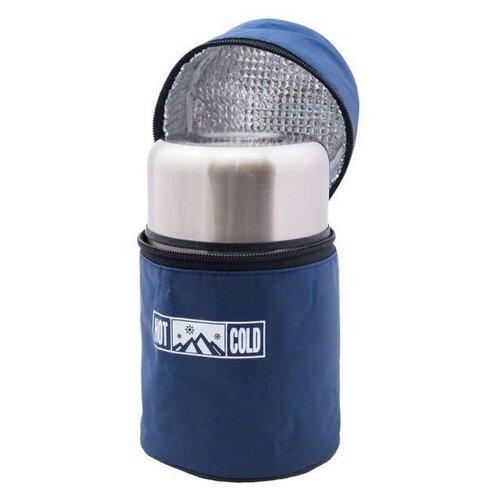 Классический термос Penguin ВК-109А, 0.75 л синий/серебристый