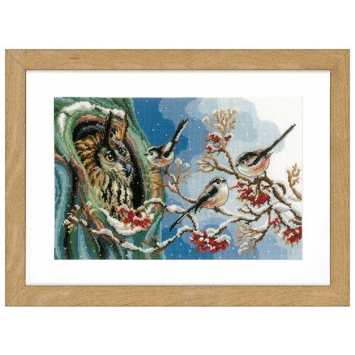 Купить Набор для вышивания VERVACO PN-0157405 Сова и синицы, Наборы для вышивания