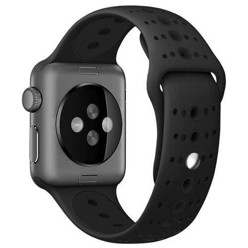 Сменный ремешок Nuobi Sport ver.3 для Apple Watch, Черный 38/40 mm сменный ремешок nuobi для apple watch 38 40mm черный