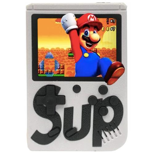 Игровая приставка SUP Game Box / 400 Игр / Белый