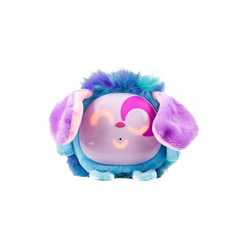 Купить Интерактивная мягкая игрушка Tiny Furries Fluffybot Candy голубой, Роботы и трансформеры