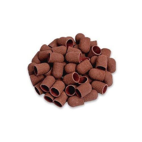 Колпачок Muhle Manikure шлифовальный тонкий 10 мм, 320 грит, 15000 об/мин, 50 шт., коричневый muhle manikure колпачок шлифовальный 13 мм тонкий 100 шт