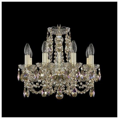 Фото - Хрустальная люстра 1406/8/141 G R801 Bohemia Ivele Crystal люстра bohemia ivele crystal 1406 1406 8 141 g balls e14 320 вт