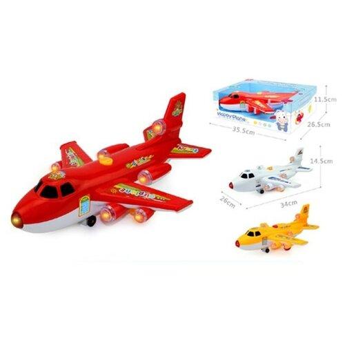 Фото - Самолет Наша Игрушка свет, звук (3322) радиоуправляемые игрушки наша игрушка самолет радиоуправляемый 163 6688 67
