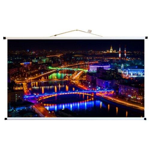 Экран для проектора про-экран 320 на 180 см (16:9), 145 дюймов