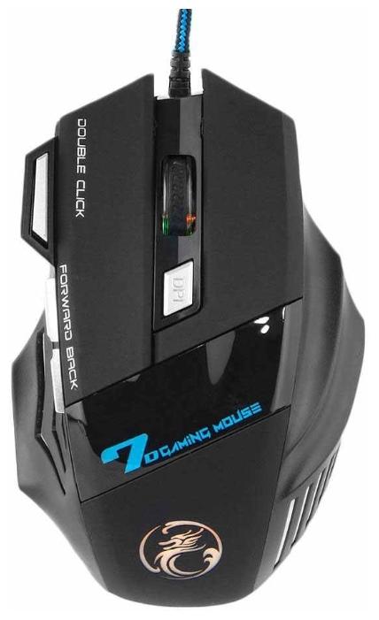 Мышь IMICE X7-B Black USB — отзывы покупателей на Яндекс.Маркете