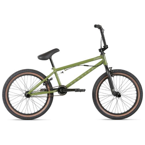 Велосипед Haro 20' Downtown DLX BMX, 20,5' Матовый Оливковый (21342)