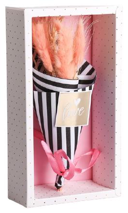 Арт Узор Букет из сухоцветов Love (3903699) — купить по выгодной цене на Яндекс.Маркете