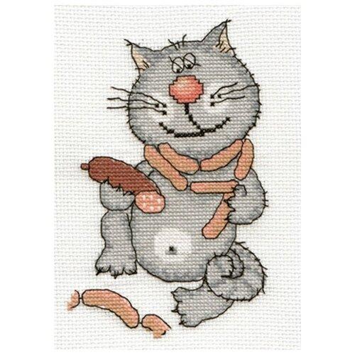 Купить PANNA Набор для вышивания Колбасная душа 13 x 17 см (К-0083), Наборы для вышивания
