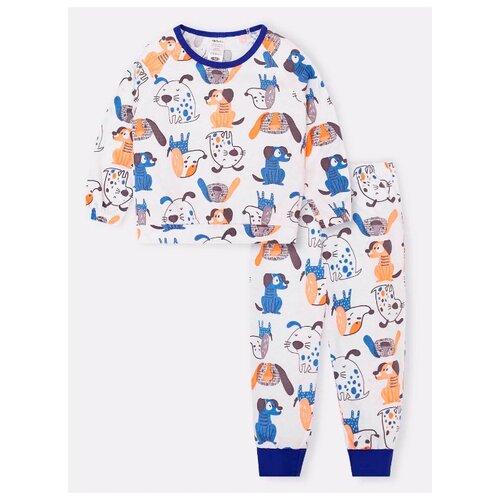 Пижама KotMarKot размер 122, белый