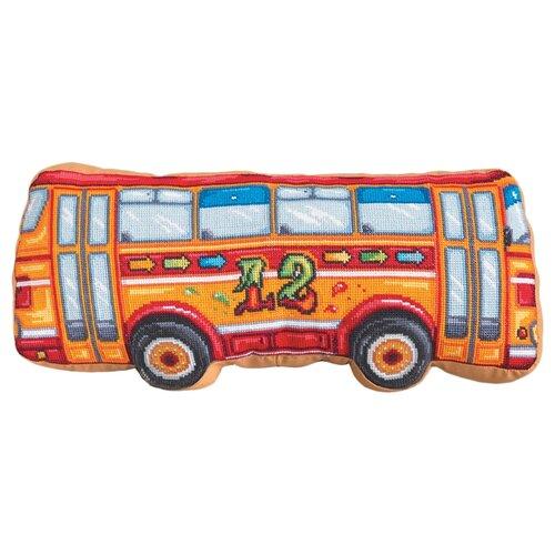 Купить PANNA Набор для вышивания Подушка Автобус 50 x 22 см (PD-1947), Наборы для вышивания
