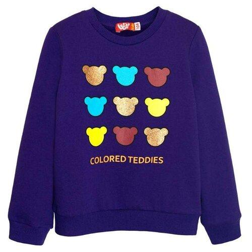Купить Свитшот Let's Go размер 92, фиолетовый, Джемперы и толстовки