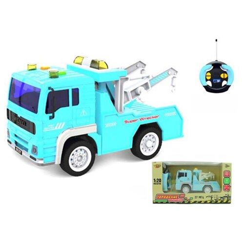 Купить Эвакуатор р/у Наша Игрушка 4 канала, свет (M1174-9), Наша игрушка, Радиоуправляемые игрушки