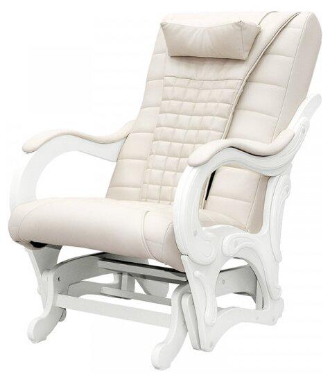 Массажное кресло-качалка EGO BALANCE EG2003 бежевый/белый фото 1