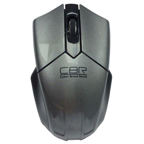 Беспроводная мышь CBR CM 677 Grey USB, серый