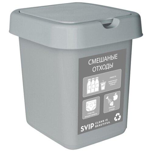 Ведро SVIP SV4542, 9 л смешанные отходы