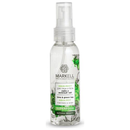 Купить Markell Aqua-мист для лица и тела Лайм и зеленый чай, 100 мл