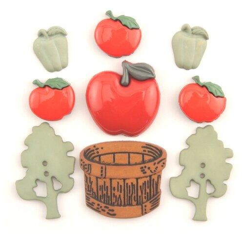 Купить 4275, Пуговицы. Яблочный сад, Buttons Galore & More