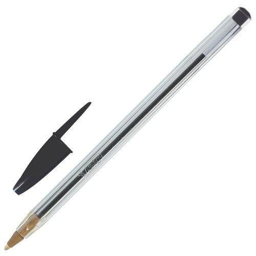 BIC Ручка шариковая Cristal Original, 1 мм (875976/847899 ), черный цвет чернил