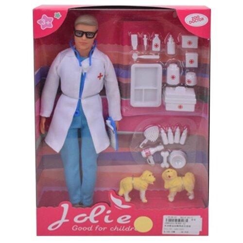 Купить Кукла Наша Игрушка Ветеринар , юноша 31 см, 21 предмет (K369-12), Наша игрушка, Куклы и пупсы