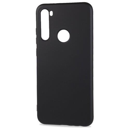 Фото - Матовый силиконовый чехол для Xiaomi RedMi Note 8T с покрытием софт-тач черный защитный чехол pero для xiaomi redmi 5 софт тач черный