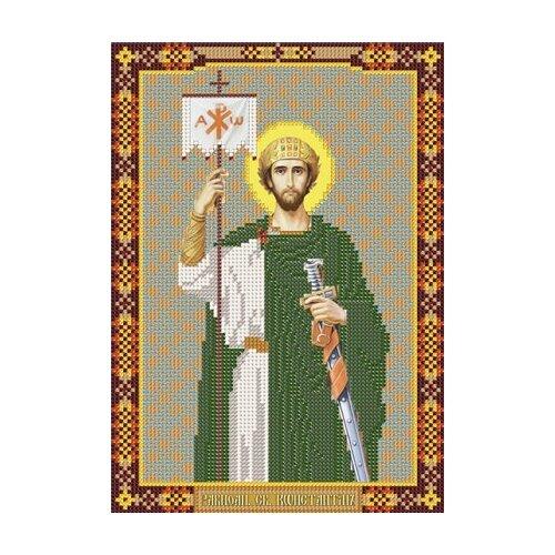 Купить Наборы для вышивания бисером НОВА СЛОБОДА С 9185 Св.Константин 18x25 см, NOVA SLOBODA