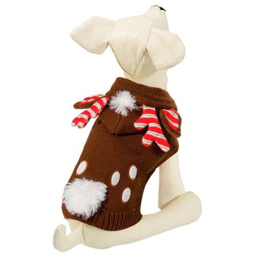 Фото - Свитер для собак Triol 12271447 XXL коричневый triol triol xxl подгузник для собак весом от 30 кг 10 шт