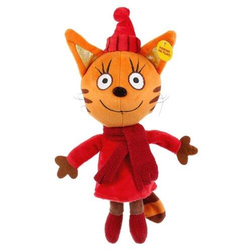 Мягкая игрушка Мульти-Пульти Три кота Карамелька в зимней одежде 16 см мягкая игрушка мопс в одежде микс цветов 11 7 см