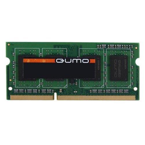 Фото - Оперативная память Qumo 4GB DDR3 1600MHz SODIMM 204-pin CL11 QUM3S-4G1600C11 модуль памяти qumo 4gb ddr3 1600mhz sodimm 204pin cl11 qum3s 4g1600c11