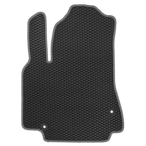 Автомобильный коврик EVA УАЗ Патриот 2014-н.в. ViceCar (темно-серый кант)