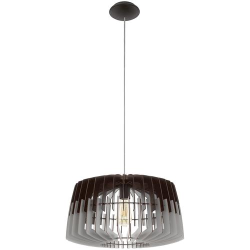 Потолочный светильник Eglo Artana 96956, E27, 60 Вт, кол-во ламп: 1 шт., цвет арматуры: никель, цвет плафона: серый потолочный светильник eglo 94635 e27 60 вт