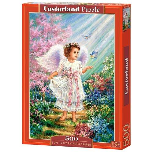 Пазл Castorland Love in My Father's Garden (B-52837), 500 дет. пазл castorland pup in pink flowers b 52233 500 дет
