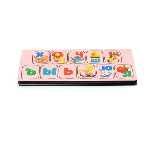 Набор рамок-вкладышей PAREMO Алфавит Игрушки (PE720-169)
