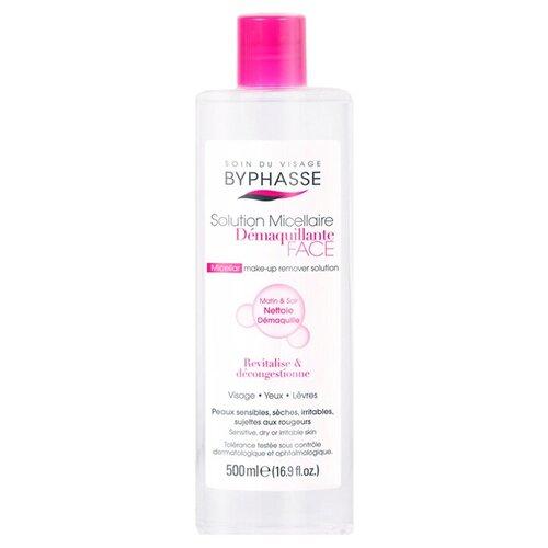 Купить Мицеллярная жидкость Byphasse Для Чувствительной, Сухой и Раздраженной Кожи 500 мл