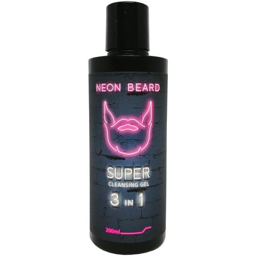 NEON BEARD Гель для умывания Violet Neon 200 мл