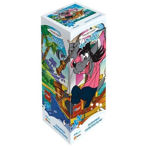 Пазл Step puzzle Plastic Collection Союзмультфильм Ну, погоди! (98029), 300 дет. пазл step puzzle plastic collection дракон и фея 98019 500 дет