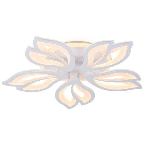 Люстра светодиодная Ambrella light FA543/5 WH, LED, 104 Вт