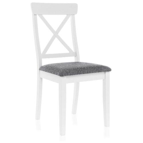 Фото - Деревянный стул Woodville Bern butter white / grey стул деревянный woodville demer cappuccino