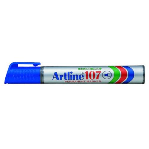 Купить Маркер перманентный, водостойкий Artline EK107, (1, 5 мм) синий, Маркеры