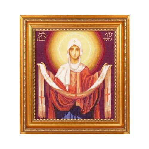 Купить Набор для вышивания «Panna» ЦМ-1270 Икона Божией Матери Покров Пресвятой Богородицы, Наборы для вышивания