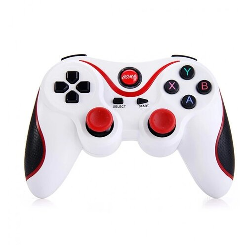Геймпад GEN GAME X3 Bluetooth, белый/красный