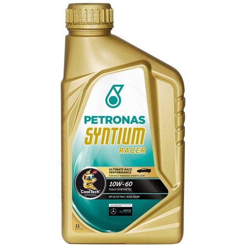 Синтетическое моторное масло Petronas Syntium Racer 10W60 1 л
