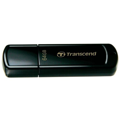 Фото - Флешка Transcend JetFlash 350 64 GB, черный флешка transcend jetflash 820g 64 gb золотой