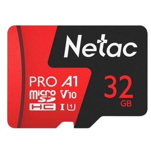 Фото - Карта памяти Netac P500 Extreme Pro 32 GB, чтение: 100 MB/s карта памяти netac p500 extreme pro 128 gb чтение 100 mb s