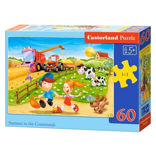 Пазл Castorland Summer in the Countryside (B-06878), 60 дет. пазл castorland cute kittens b 066087 60 дет