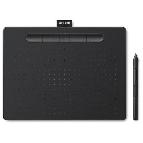 Графический планшет WACOM Intuos M Bluetooth (CTL-6100WLK-N/CTL-6100WLE-N) черный